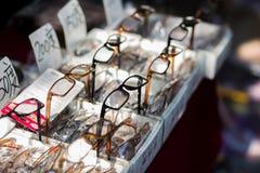 Κινεζικά γυαλιά συνταγών γυαλιών Στοκ εικόνα με δικαίωμα ελεύθερης χρήσης
