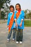 κινεζικά κορίτσια Στοκ εικόνες με δικαίωμα ελεύθερης χρήσης