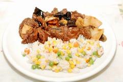 κινεζικά λαχανικά ρυζιού  Στοκ Εικόνα
