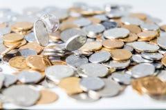 Κινεζικά νομίσματα RMB Στοκ Φωτογραφίες