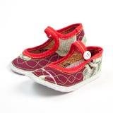 Κινεζικά παπούτσια μωρών Στοκ εικόνες με δικαίωμα ελεύθερης χρήσης