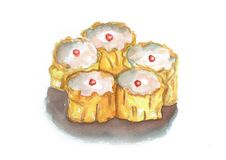 Κινεζικά παραδοσιακά τρόφιμα Dimsum Στοκ εικόνες με δικαίωμα ελεύθερης χρήσης