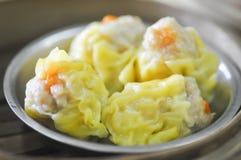 Κινεζικά πρόχειρα φαγητά, αμυδρό ποσό Στοκ Εικόνα
