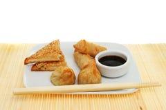 κινεζικά πρόχειρα φαγητά επιλογής Στοκ Εικόνες