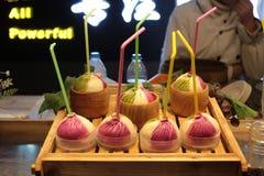 Κινεζικά πρόχειρα φαγητά χρώματος Στοκ Εικόνα