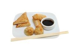 κινεζικά πρόχειρα φαγητά Στοκ εικόνες με δικαίωμα ελεύθερης χρήσης