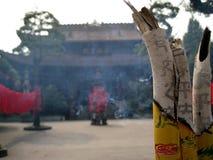 Κινεζικά ραβδιά για τις προσευχές Στοκ φωτογραφία με δικαίωμα ελεύθερης χρήσης