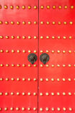 Κινεζικά ρόπτρα πορτών στοκ εικόνες