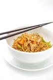 Κινεζικά τηγανισμένα noodles στοκ φωτογραφίες με δικαίωμα ελεύθερης χρήσης