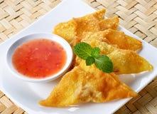 Κινεζικά τρόφιμα, ασιατικά τρόφιμα Στοκ Φωτογραφία