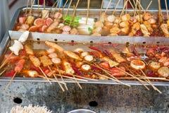 Κινεζικά τρόφιμα οδών Στοκ εικόνες με δικαίωμα ελεύθερης χρήσης