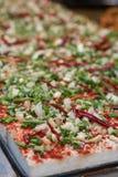 Κινεζικά τρόφιμα οδών - Tofu Στοκ φωτογραφίες με δικαίωμα ελεύθερης χρήσης
