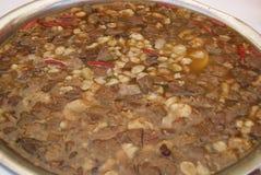 Κινεζικά τρόφιμα: σούπα εντοσθίων βόειου κρέατος Στοκ φωτογραφία με δικαίωμα ελεύθερης χρήσης