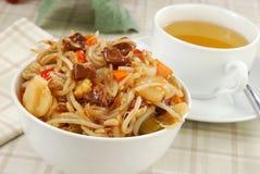 κινεζικά τρόφιμα Στοκ εικόνες με δικαίωμα ελεύθερης χρήσης
