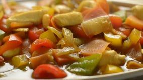 κινεζικά τρόφιμα απόθεμα βίντεο