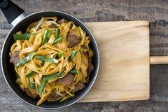 κινεζικά τρόφιμα chow βόειου κρέατος mein Στοκ φωτογραφία με δικαίωμα ελεύθερης χρήσης