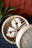 Κινεζικά τρόφιμα Salapao Στοκ Εικόνα