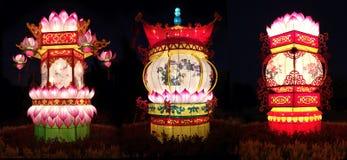 κινεζικά φανάρια παραδοσιακά Στοκ εικόνα με δικαίωμα ελεύθερης χρήσης