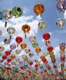 κινεζικά φανάρια Στοκ Εικόνα