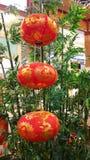 κινεζικά φανάρια Στοκ εικόνες με δικαίωμα ελεύθερης χρήσης
