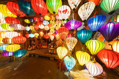 Κινεζικά φανάρια hoi-, Βιετνάμ Στοκ Φωτογραφία