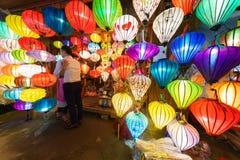 Κινεζικά φανάρια hoi-, Βιετνάμ Στοκ φωτογραφίες με δικαίωμα ελεύθερης χρήσης