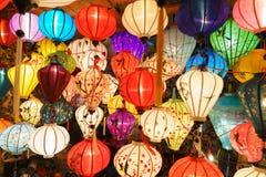 Κινεζικά φανάρια hoi-, Βιετνάμ Στοκ Εικόνες