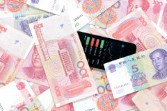 κινεζικά χρήματα Στοκ Εικόνα