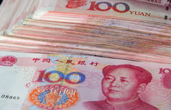 κινεζικά χρήματα Στοκ Φωτογραφίες