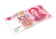 Κινεζικά χρήματα Yuan Στοκ Φωτογραφία
