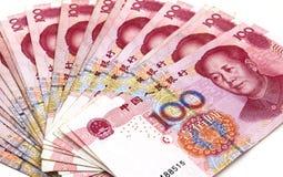 Κινεζικά χρήματα Yuan Στοκ εικόνα με δικαίωμα ελεύθερης χρήσης