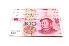 Κινεζικά χρήματα Yuan Στοκ φωτογραφίες με δικαίωμα ελεύθερης χρήσης