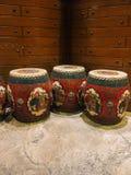 Κινεζικά drum-shaped σκαμνιά στοκ φωτογραφία με δικαίωμα ελεύθερης χρήσης