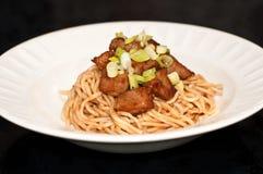 κινεζικά noodles Στοκ φωτογραφία με δικαίωμα ελεύθερης χρήσης