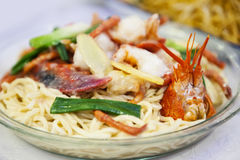 κινεζικά noodles Στοκ Φωτογραφίες