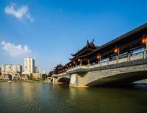 Κινεζικές καλυμμένες γέφυρες Στοκ Φωτογραφία