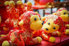 Κινεζικές κούκλες πιθήκων Στοκ εικόνες με δικαίωμα ελεύθερης χρήσης