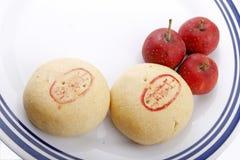 κινεζικές πίτες κραταίγ&omicron Στοκ φωτογραφία με δικαίωμα ελεύθερης χρήσης