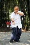 Κινεζικές πολεμικές τέχνες Στοκ φωτογραφία με δικαίωμα ελεύθερης χρήσης