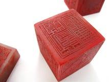 κινεζικές σφραγίδες Στοκ φωτογραφία με δικαίωμα ελεύθερης χρήσης