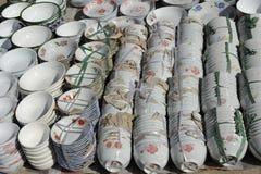 Κινεζική αγγειοπλαστική Στοκ φωτογραφίες με δικαίωμα ελεύθερης χρήσης