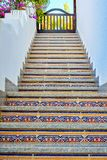Κινεζική ανατολική σκάλα στην κορυφή στοκ εικόνα με δικαίωμα ελεύθερης χρήσης