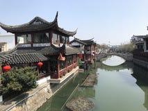 Κινεζική αρχαία αγορά στοκ εικόνα με δικαίωμα ελεύθερης χρήσης