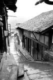 Κινεζική αρχαία οδός Στοκ εικόνες με δικαίωμα ελεύθερης χρήσης
