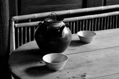 Κινεζική αρχαία πορσελάνη στοκ φωτογραφίες με δικαίωμα ελεύθερης χρήσης