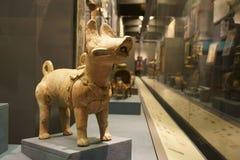 Κινεζική Ασία, Πεκίνο, το κύριο μουσείο, το αρχαίο κεφάλαιο της ιστορικής και πολιτιστικής έκθεσης του Πεκίνου, Στοκ Φωτογραφίες