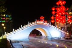 Κινεζική γέφυρα Στοκ Φωτογραφίες