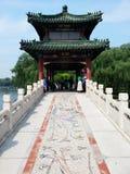 Κινεζική γέφυρα Στοκ εικόνες με δικαίωμα ελεύθερης χρήσης