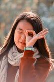 κινεζική γυναίκα πορτρέτ&omicr Στοκ φωτογραφία με δικαίωμα ελεύθερης χρήσης