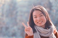 κινεζική γυναίκα πορτρέτ&omicr Στοκ εικόνα με δικαίωμα ελεύθερης χρήσης